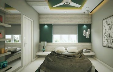 Best Bedroom Interior Ideas, Paints & Lights - Leading Home Interior Designers Kerala