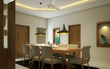Dining Room Design Trends 2018 -2019 - Top Interior Designers Kochi, Kerala