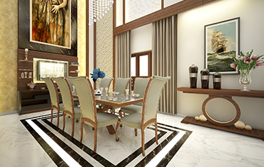 Luxury Dining Interiors Sets, Wall & Flooring Ideas