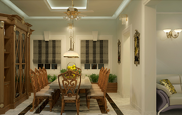 Modern Dining Room Furniture Sets & Wall Designs - Best Kerala Interior Designers