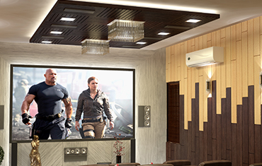 Home Theater Setup Ideas On A Budget - Leading Architects & Interior Designers Kerala