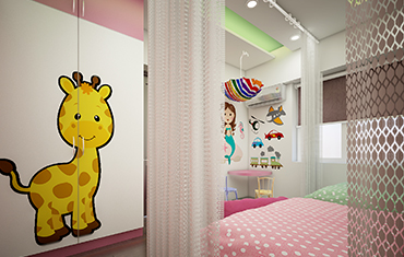 Kids Bedroom Designs, Wardrobe, & Wall Stickers Ideas