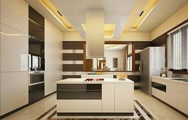 Interiors For Kitchen, Kochi - Famous Interior Designers Kerala