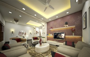 Living Room Interior Design Ideas, Decor -  Top Designers Kochi, Calicut, Kerala