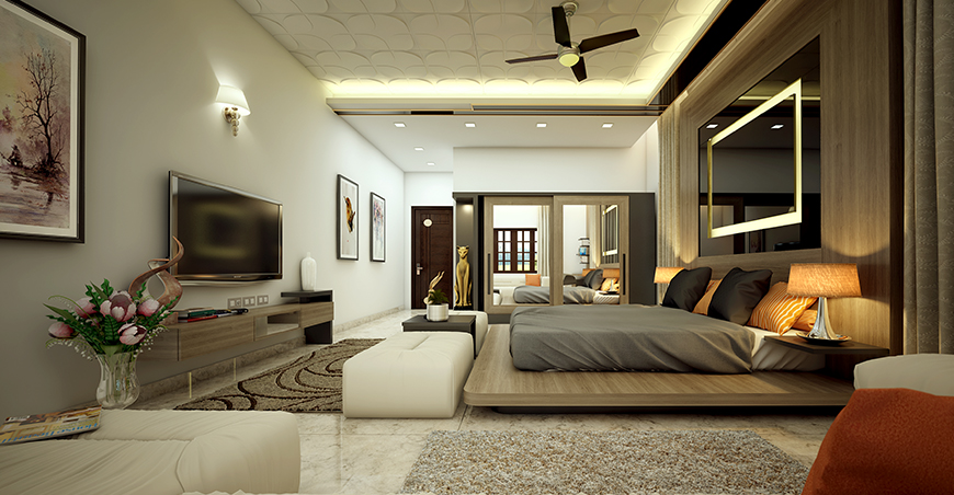 . Interior Designers in Ernakulam  Thrissur   Bedroom Designs in Kerala