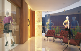 Commercial Interior Room Design For Boutique