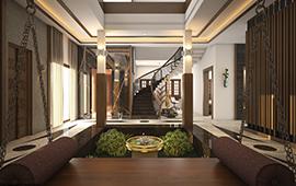 Courtyard Designs Inside Home